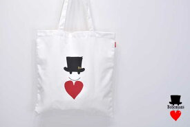 Bohemians/ボヘミアンズNC Sack Bag (Love&Hat 8)エコバッグ トート