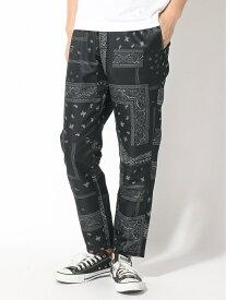 【SALE/40%OFF】(M)ソウガラプリントイージーP RAGEBLUE レイジブルー パンツ/ジーンズ フルレングス ブラック ブラウン【RBA_E】[Rakuten Fashion]