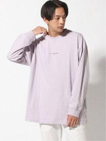 【SALE/25%OFF】(M)アートプリントロンT RAGEBLUE レイジブルー カットソー Tシャツ パープル ブラウン ブラック ベージュ【RBA_E】[Rakuten Fashion]