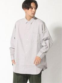 【SALE/40%OFF】(M)スーパーBIGプリントシャツ RAGEBLUE レイジブルー シャツ/ブラウス 長袖シャツ グレー ブラック ブラウン【RBA_E】[Rakuten Fashion]