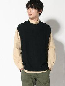 【SALE/34%OFF】(M)ニットベスト RAGEBLUE レイジブルー ニット ノースリーブニット/ベスト ネイビー ブラウン ベージュ【RBA_E】[Rakuten Fashion]