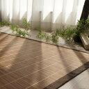 【お得な優待クーポンあり!】 竹ラグ 天然素材 バンブー カーペット ラグマット 夏 涼感!エコ素材 絨毯 130×180cm カラー ブラウン、ベージュ 全国...