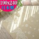 ラグ 洗える 3畳 用 おしゃれ カーペット インテリア 柄 絨毯 190×240 じゅうたん ラグマット 抗菌 防ダニ 国産 アクセントラグ 長方形 リビング コペン