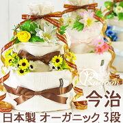 オーガニック・おむつケーキ