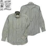 (★クーポン発行)オルゲイユシャツORGUEIL(オルゲイユ)OR-5002Bウィンザーカラーシャツブルーストライプワイドスプレッドカラー