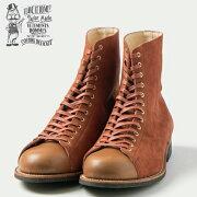 (★クーポン発行)オルゲイユブーツORGUEIL(オルゲイユ)LeatherHi-TopShoesレザーハイトップシューズスウェード革グッドイヤー・ウェルテッド製法