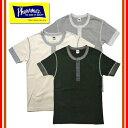 Pherrow's/フェローズ PHT ヘンリーネック半袖Tシャツ TEE ヘンリー 無地 定番