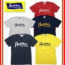 【1枚までレターパックライト対応】【新色追加】【再入荷】 Pherrow's フェローズ 18S-PT1 Tシャツ プリント ロゴ 定番