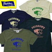 フェローズPherrow'sTシャツ21S-PT2半袖プリントバッファローロゴT2021年春夏新作アメカジ定番