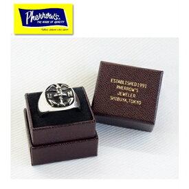 Pherrow's フェローズ 19S-U.S.N RING USNリング 指輪 シルバー ミリタリー US NAVY 小物