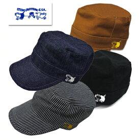 (★クーポン発行)ダルチザン STUDIO D'ARTISAN ステュディオ・ダルチザン キャップ 7222 帽子 CAP ロゴ ダック プレゼント 男性 メンズ ラッピング対応可能