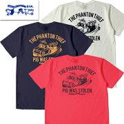 【1枚までレターパック対応】ダルチザンSTUDIOD'ARTISANステュディオ・ダルチザン8030A「THEPHANTONTHIEF」Tシャツプリント半袖TシャツUSAコットン