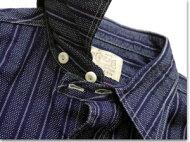 SUGARCANE/シュガーケーンFICTIONROMANCE/フィクションロマンスSC27508「4.5ozINDIGOSTRIPEPRINTWORKSHIRTS」インディゴストライププリントワークシャツ