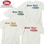 UESウエスTシャツ651904UESWEARWELLロゴロゴT半袖TEEアメカジ