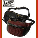 (★クーポン発行)Y'2 LEATHER ワイツーレザー BG-09 「HORSE HIDE WAIST BAG」 ホースハイドウエストバッグ 鞄 カバン レ…