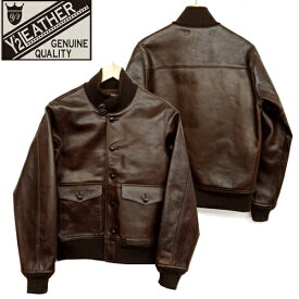 (★クーポン発行)Y'2LEATHER ワイツーレザー A-1 ハンドオイルホース ジャケット 馬革 レザージャケット