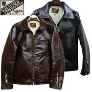 Y'2LEATHERワイツーレザーPR-65VINTAGEHORSElight襟付きシングルライダースレザー革ライダースジャケット