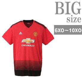 ユニフォーム サッカー メンズ adidas アディダス 大きいサイズ マンチェスターユナイテッド C300921-06