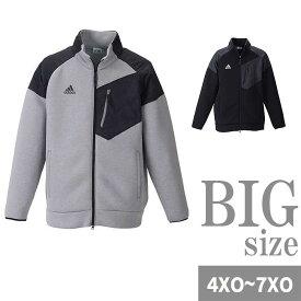 ゴルフウェア スウェット adidas golf アディダス ゴルフ メンズ 大きいサイズ ジャケット スイングトップ ニット 紫外線カット C301001-15