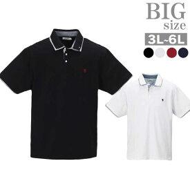 ポロシャツ 大きいサイズ メンズ 2枚衿 2枚襟 TIMELY WARNING タイムリーワーニング C010501-08