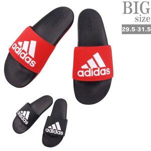 adidas アディダス サンダル ADILETTE CF LOGO 大きいサイズ メンズ スリッパ C020204-13