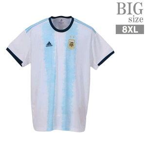大きいサイズ メンズ アルゼンチン adidas サッカー ユニフォーム トレーニング アディダス C010528-14