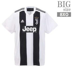 大きいサイズ メンズ 半袖 アディダス adidas ユベントス サッカー ユニフォーム トレーニング C010607-01
