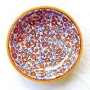 モロッコ 陶器 お皿 14 プレート 皿 フェズ ディッシュ モロッコ雑貨 食器 レッド お洒落 おしゃれ 可愛い かわいい …