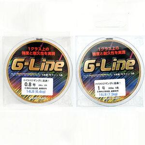 ギアラボ 釣り糸 PEライン Gライン 200m 5色 Gear-Lab G-Line for マイクロジギング【着後レビューでステッカープレゼント】 ギフト プレゼント