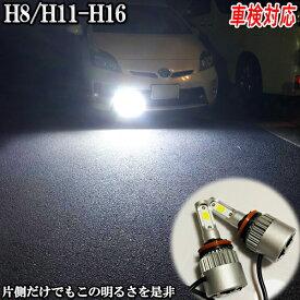 ミラ アヴィ H17.8〜H18.11 L250・260系 フォグランプ LED H8 H11 H16 車検対応
