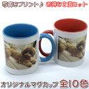 【お得な2個セット】ギフトに最適な名入れマグカップ!メモリアル写真・お子様やペットの写真入りマグカップを2個から作成!カップサイ…