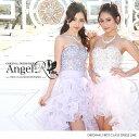 Angel R エンジェルアール ドレス キャバ ドレス キャバドレス エンジェル アール ドレス ビジューたっぷりふわふわフ…
