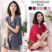 モーダル!!純綿レディース欧米スタイルルームウェアパジャマ寝巻ナイトウェア上下セット女性