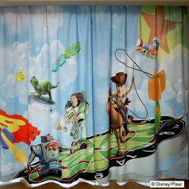トイ・ストーリー カーテン かわいい 【幅100×丈135,150,178,185,200cm】 ディズニー