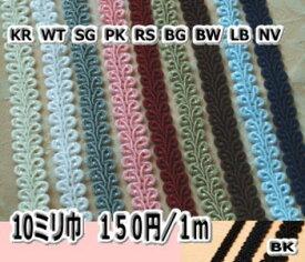 10mm巾ブレード(トリミングレース) 1m〜 【カルトナージュ 材料】【RCPdec18】