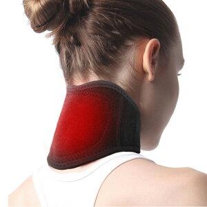 首 サポーター コルセット 自己発熱 磁石でマッサージ 暖かい 頸椎ヘルニアの予防 ネック 首コリ 肩こり 首痛み 解消 頭痛緩和 冷え防止 磁気 温感 温め マジック式 軽量 装着便利 男女兼用