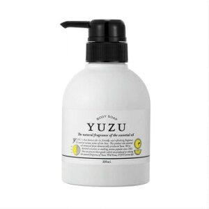 【18日は「いちばの日」 ご愛顧感謝デー☆お得にお買い物】高知県産YUZU 柚子ボディソープ 高知県産ユズ精油を使用した爽やかでみずみずしい香りのボディソープです。サラサラ。