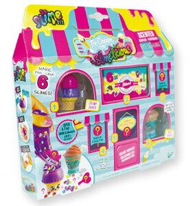 ソースライムリシアス ミニショップアイスクリーム スライムリシアス 簡単 ソースライム おもちゃ ガールズ キッズ 子供 3歳 4歳 5歳 6歳 7歳 8歳 小学生 親子 スライム キット 材料 diy プレゼ