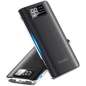 モバイルバッテリー hoco 10000mAh iPhone アイフォン 2回 スマホバッテリー 充電器 携帯バッテリー スマートフォン 大容量 急速充電 全機種対応 ケーブル USBケーブル microusb quick charge 2.1a 急速 アイホン 軽量 iPhoneシリーズ PSE認証 黒 白 ピンク