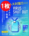 【在庫あり・1枚入】ウイルスシャットアウト ウイルスブロッカー 空間除菌カード 首掛けタイプ エアマスク ウイルス除…