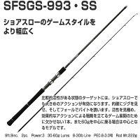 釣り竿ロッドルアーロッドショアスローモデルショアガンエボルブアングラーズリパブリックパームスショアガンエボルブSFSGS-991・SS