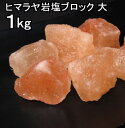 【食用 岩塩】 ヒマラヤ岩塩 食用 ピンク ブロック ナゲット大 岩塩 1kg 【おろし用お料理用岩塩】 ミネラル岩塩 【食…