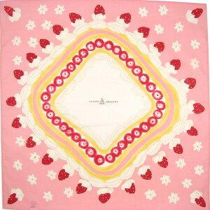 綿小風呂敷 ふろしき ショートケーキ 【MISATO ASAYAMA】中巾(50cm幅) エコバッグ 母の日 父の日 ギフト プレゼント クリスマス おしゃれ 可愛い 一升餅 名入れ可 ピンク