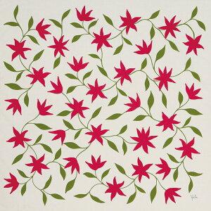 シビラ 大判 綿風呂敷 Sybilla 海の星(ベージュ)二四巾(97cm幅) エコバッグ 母の日 父の日 ギフト プレゼント クリスマス おしゃれ 可愛い 一升餅 90cm かわいい 名入れ可