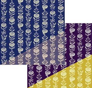 京の両面おもてなし風呂敷 菊三巾(105cm幅) エコバッグ 母の日 父の日 ギフト プレゼント クリスマス おしゃれ 可愛い 一升餅 名入れ可