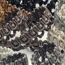 SIC アンティークメタリックトリミングブレード 約10mm 1メートル 服飾 手芸 SHINDO