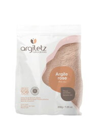 【フランス産 美容クレイ】ピンククレイ 超微粉末 200g【Argiletz(アルジレッツ)】最高級フレンチクレイ・化粧品登録クレイ テラピー 粘土 ねんど 療法
