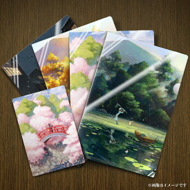 荘園四季 季節テーマクリアファイルセット(専用ケース入り/特典付:ランダムPVCプロマイド1枚)