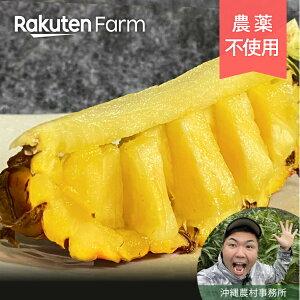 こだわり農家直送 沖縄県 ゴールドバレル パイナップル 1kg 沖縄 やんばる