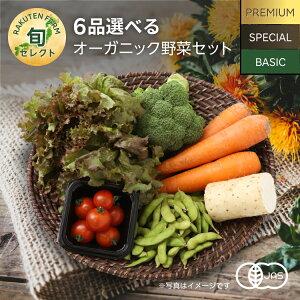 6品選べるオーガニック野菜セット (31種から選択)